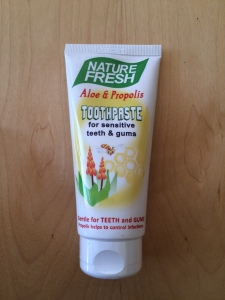 Nature Fresh toothpaste