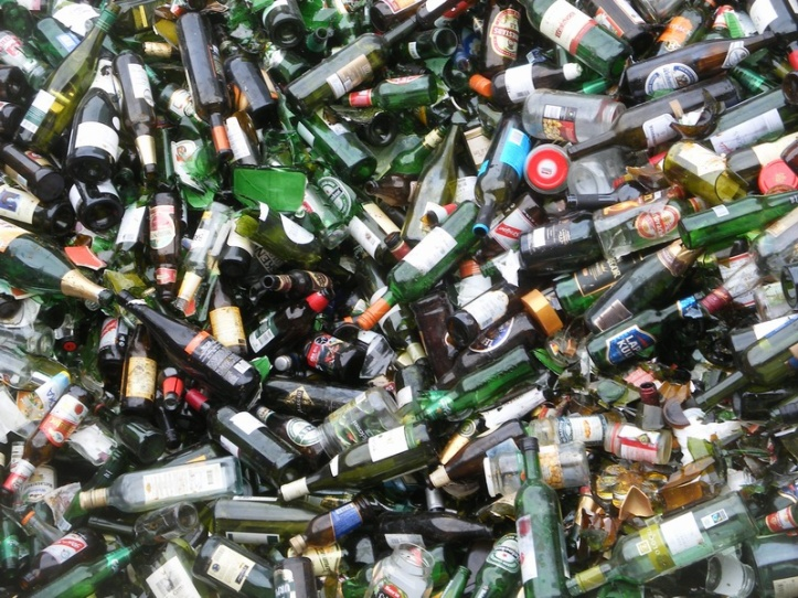 Glass recycling - Anders Sandberg Flickr